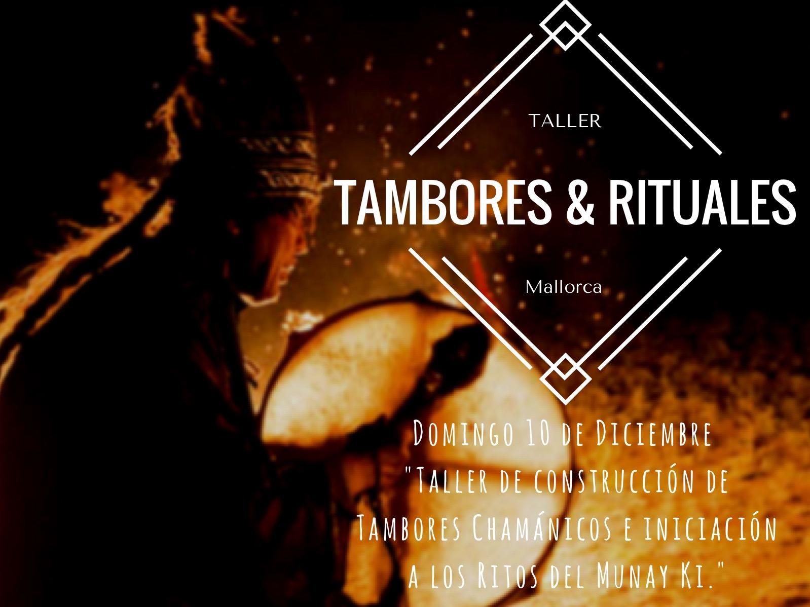 Taller de elaboración de Tambor Chamanico y Rituales