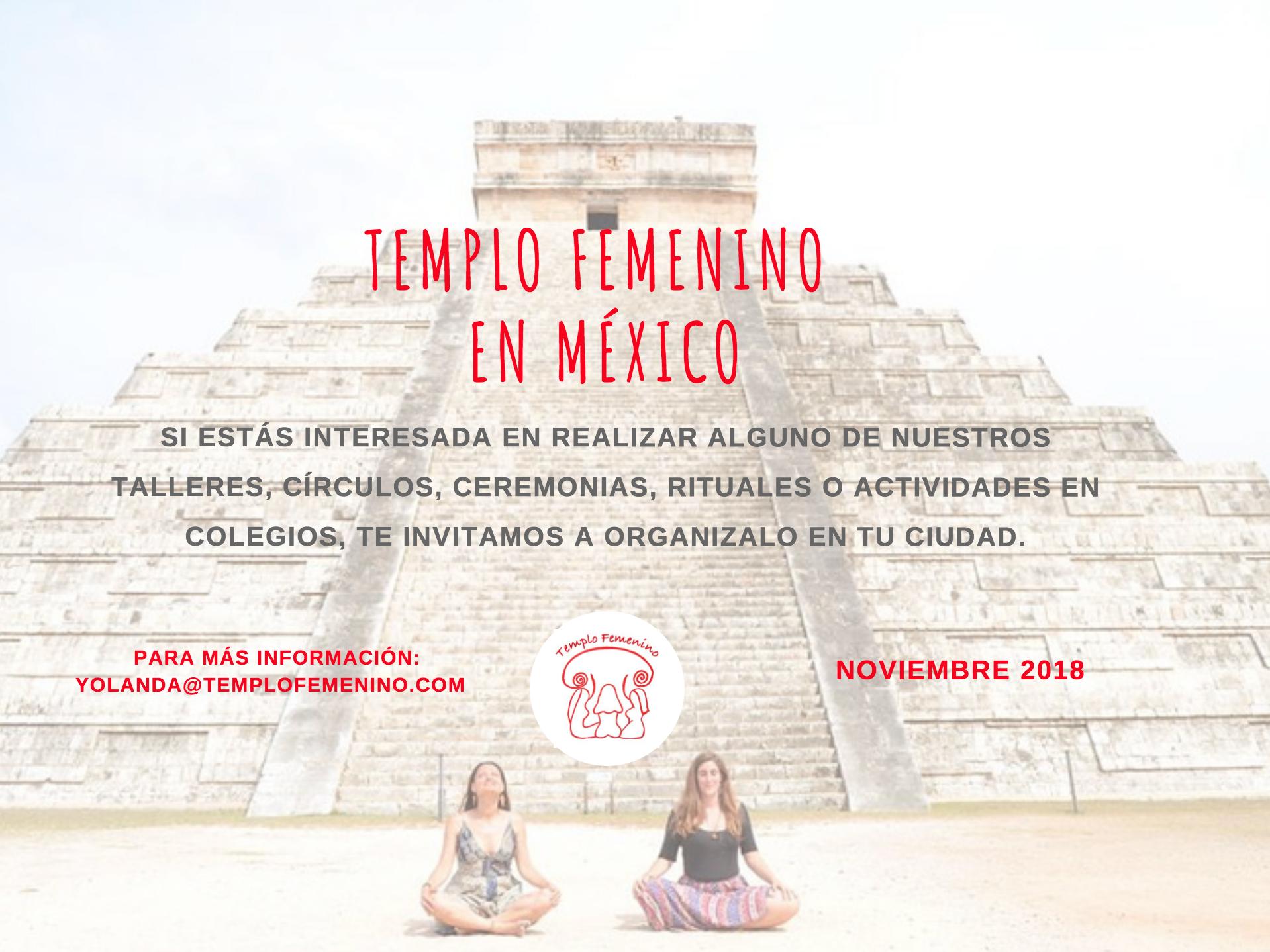 Templo Femenino en México